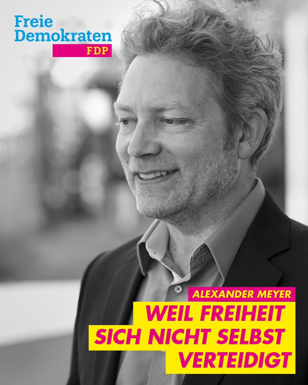 Alexander Meyer - Bundestagskandidat