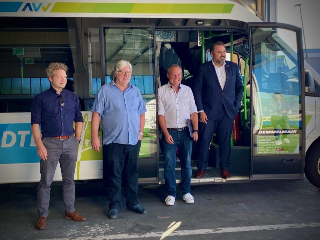 Omnibusse haben Zukunft